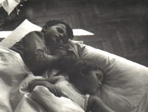 Děti ležící spící :)