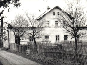 Dům čp. 6 v dolních Vlčkovicích zezadu.