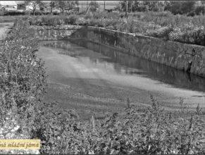 Usedlost u Vejdělků od roku 1953 sloužila pro potřeby JZD jako kravín a uskladňovací prostory pro seno a průmyslová hnojiva. Prázdná silážní jáma.