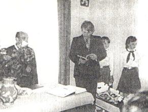Na snímku Matějka Josef, Franc Jindřich, Francová Šárka a Rolečková Renata.