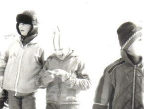 Fotografie z lyžařských závodů.