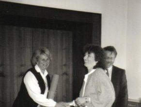 Čestné uznání bylo uděleno Gabriele Gluksmanové z Lánova.