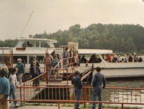Projížďka na Máchově jezeře lodí Racek.