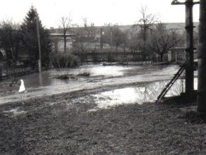 Máchadlo v Horních Vlčkovicích.