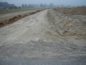 Pohled od cesty C 1.5 DV.