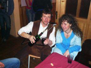 Jan Stolín s manželkou Stanislavou.