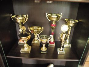 Trofeje.