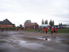 Volejbalistky po zápase.