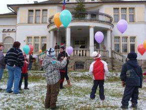 Nové balónky k vypuštění.