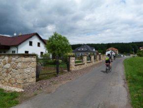 Domy v obci Trotinka.