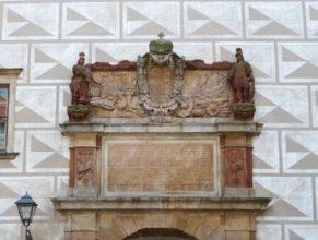 Brána - Zámek Náchod.