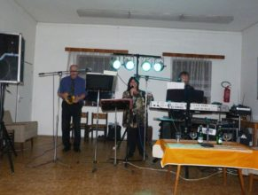 Hudební skupina pana Pavla Macháčka.