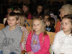 Děti na mikulášském odpoledne.