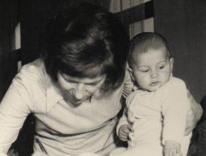 Pipková Hedvika se synem Radkem.