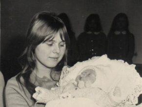 Věra Shuchánková se synem Alešem.