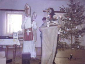 Mikuláš v podání Koukola Vladislava a čert Mertlíka Petra.