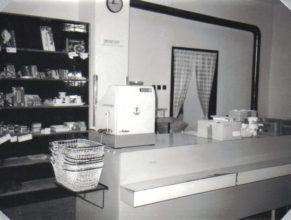 Uvnitř prodejny Koloniál.