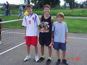 Zleva Jakub Prajzler, David Otava a David Vitebský.