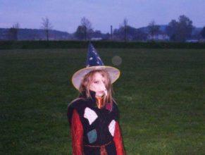 Malá čarodějka.