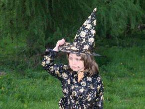 Čarodějka.