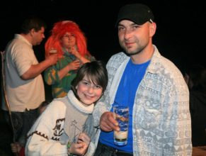 Petr Bittner s dcerou Kristýnou.