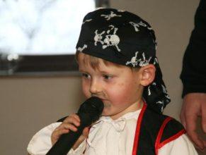 Malý pirát.