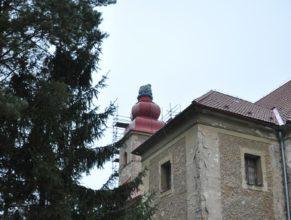 Kostel sv. Josefa, pohled zezadu.