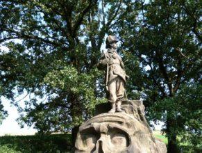 Pomník Myslivce.