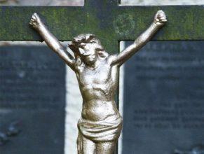 Kristus na kříži.
