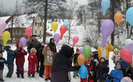 Balónky pro Ježíška