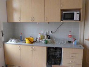 Nová kuchyňka.