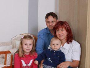 Rodiče s potomky.