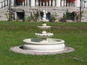 Nová fontána.