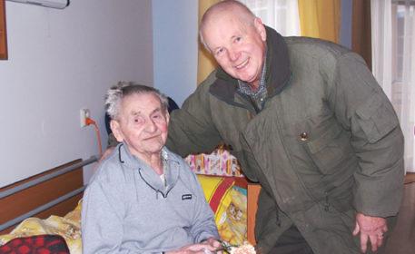 Návštěva v domově důchodců